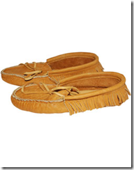 Low Bison Moccasins with Sole