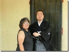 Daisuke with Jennifer Curtis