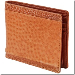 Emu 6 Pocket Wallet with Coin Pocket, Tan