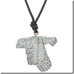 Snowy Owl Pendant with cord