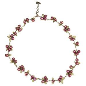 Cranberry Necklace, Bronze