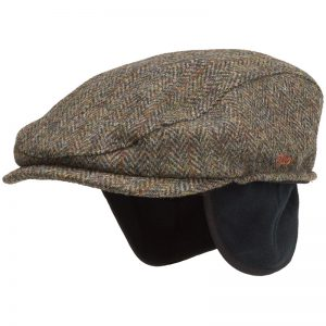 Tilley Ivy Cap. Harris tweed, made in Canada